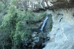 Waterfall at the cave