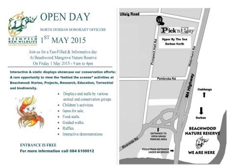 2015 Open Day Flyer - generic